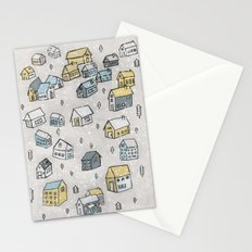 First day of snow Stationery Cards