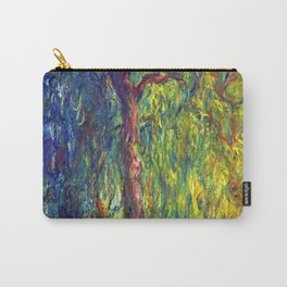 Claude Monet Weeping Willow Carry-All Pouch
