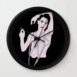 Emcee from Cabaret! Wall Clock