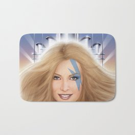 Xanadu homage cover for 10th Muse - Olivia Newton John! Bath Mat