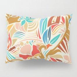 Abstract Florals Pillow Sham