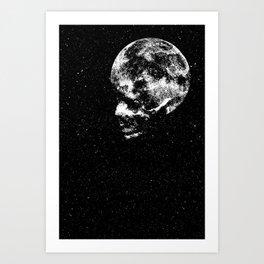 Midnight Moon Art Print