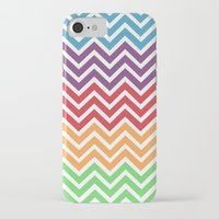 gumball iPhone & iPod Cases featuring Gumball Chevron by Wicked Cool Studio