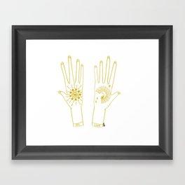 tu y yo Framed Art Print