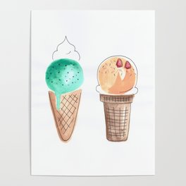 sweet and melty Poster