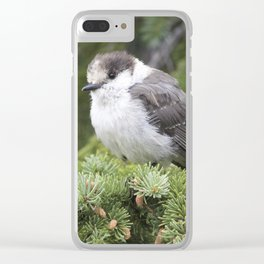 Whiskey Jack 2 Clear iPhone Case