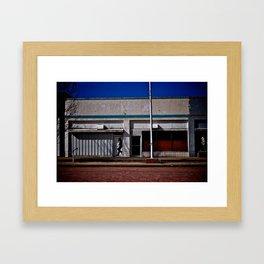 White Deer, TX Framed Art Print