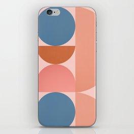 Abstraction_SHAPE_BALANCE_Modern_Monimalism_001 iPhone Skin