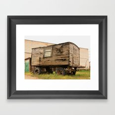 Urban stories   Framed Art Print
