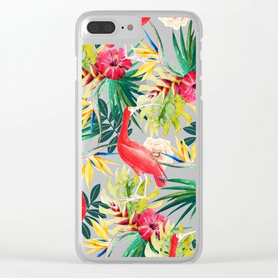 Hawaiian Vibe #society6 #decor #buyart Clear iPhone Case