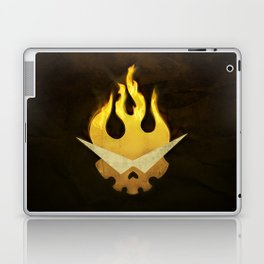 Gurren Lagann Movie Poster Laptop & iPad Skin
