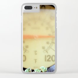Forever Warm If Not Young Clear iPhone Case