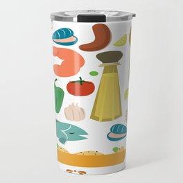 Paella Travel Mug