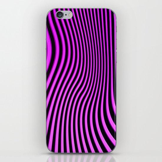 Stripes in Pink iPhone & iPod Skin