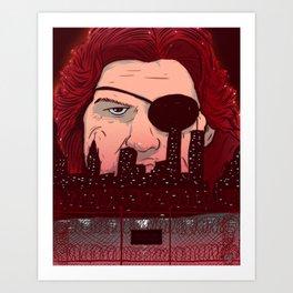 Escape from NY Art Print