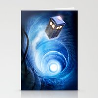 doctor who Stationery Cards featuring Doctor Who by Joe Roberts