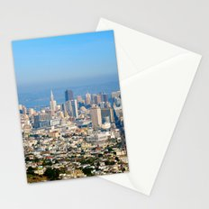 Twin Peaks, San Francisco Stationery Cards