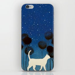 THE POETRY OF A NIGHT by Raphaël Vavasseur iPhone Skin