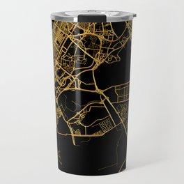 Dubai map, UAE Travel Mug