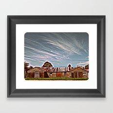Deserted - HDR Framed Art Print