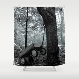 Childhood Recollections Shower Curtain