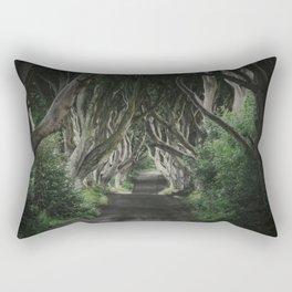 The Dark Hedges II Rectangular Pillow