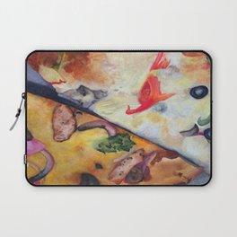 Pizza Lovemaking (LARGER SIZES) Laptop Sleeve