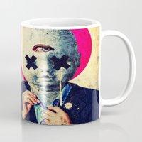 war Mugs featuring All War Is Deception by Alec Goss
