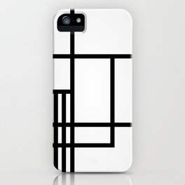Gridwork iPhone Case
