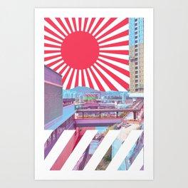 疲れ都市 /// Art Print