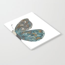 Winged Butterfly (L) Notebook