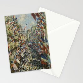 The Rue Montorgueil in Paris Stationery Cards