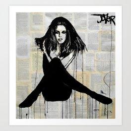 la femme Art Print