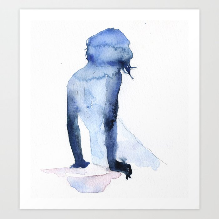 Discover the motif SMALL PIECE 26 by Agnes Cecile as a print at TOPPOSTER