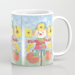 Fall scarecrow Coffee Mug