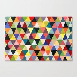 Black Geometry Canvas Print