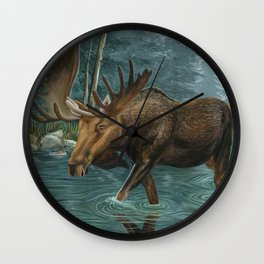 When the Forest is Still Wall Clock