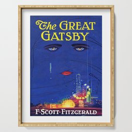 The Great Gatsby Original Book Cover Art Serving Tray