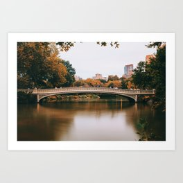 Bow Bridge 2 Art Print