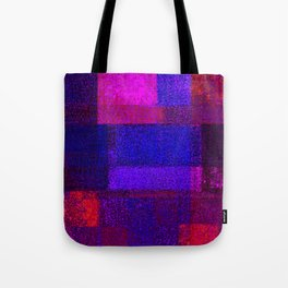 Christmas Square Dance Tote Bag