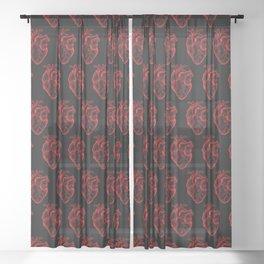 Heartless Sheer Curtain
