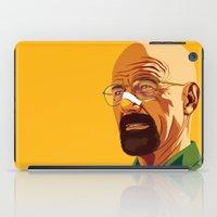heisenberg iPad Cases featuring Heisenberg by Stan Pro