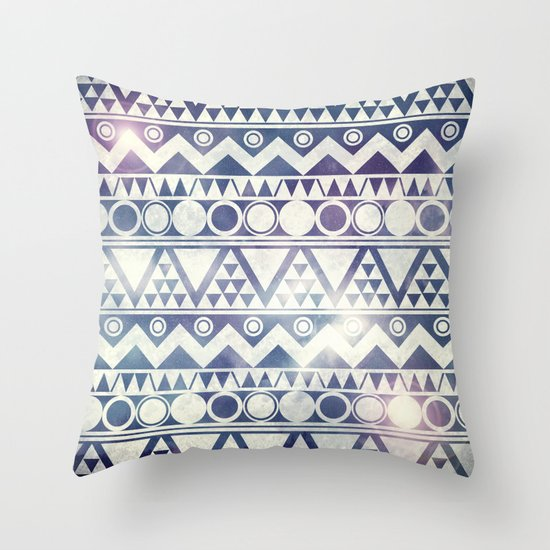 Tribal Gathering Throw Pillow