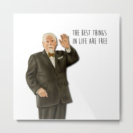 Bert Cooper (Mad Men) Metal Print