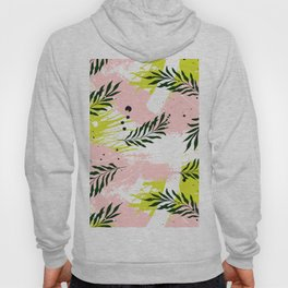 Palm pink texture Hoody