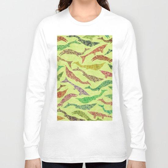 Extinct Marine Lizard II (Plotosaurus, Globidens, Platecarpus, Tylosaurus) Long Sleeve T-shirt