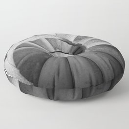 La Sagrada Familia Spiral Staircase Floor Pillow