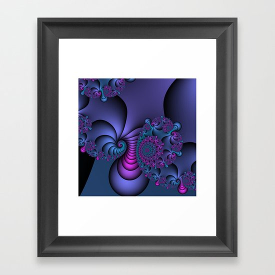 Allegory of a dream Framed Art Print