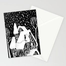 Snow House Stationery Cards