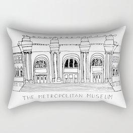 The Metropolitan Museum  Rectangular Pillow